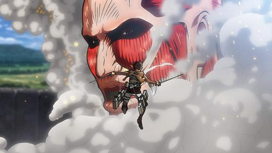 進擊的巨人 第5話 首場戰役 托洛斯特區攻防戰①